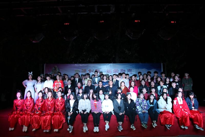 崇德育人,文化随行——2019年大型主题文艺晚会在两校区分别举行