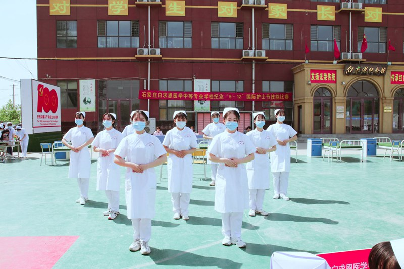 群英荟萃展护生风采,护理大赛长护理技能 -我校举办5•12国际护士节技能比赛